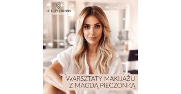 Beauty Trends 2018 Warsztaty makijażu z Magdą Pieczonką
