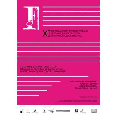 Koncert Galowy XI Międzynarodowego Festiwalu Chóralnego w Szczecinie