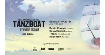 Elektroniczny Szczecin pres. TanzBoat - otwarcie sezonu