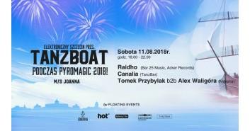 Elektroniczny Szczecin pres. TanzBoat podczas Pyromagic