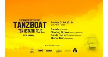 Elektroniczny Szczecin pres. TanzBoat Ten Ostatni Rejs...