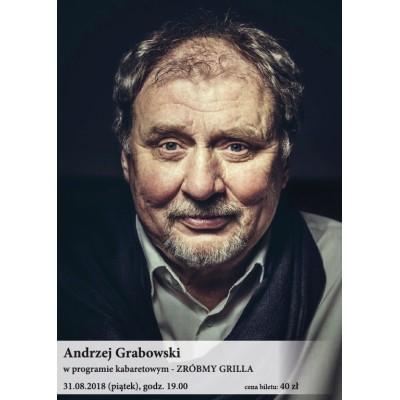 Andrzej Grabowski w programie kabaretowym Zróbmy grilla