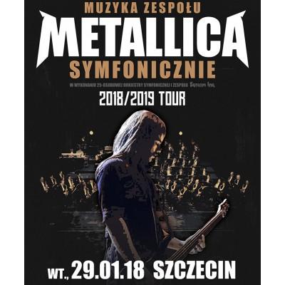 Muzyka zespołu METALLICA symfonicznie - dodatkowy koncert