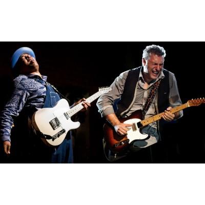 Texas Italian Guitar Battle | Rob Mo & Willie J Laws
