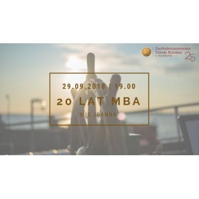 20 lat MBA - Rejs Absolwentów MBA