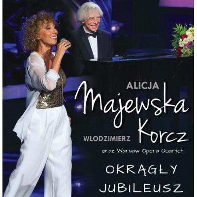 """Alicja Majewska - Włodzimierz Korcz - """"Okrągły jubileusz"""""""