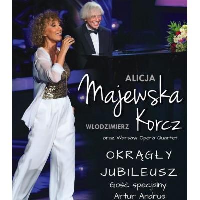 """Alicja Majewska - Włodzimierz Korcz - """"Okrągły jubileusz"""", gość specjalny: Artur Andrus"""