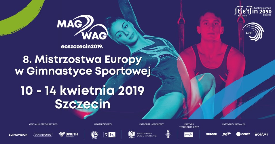 8. Mistrzostwa Europy w Gimnastyce Sportowej - MAG: VT, PB, HB   WAG: BB, FX