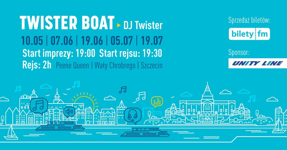 Twister boat party