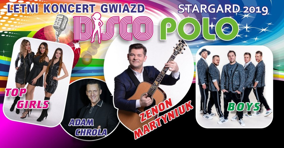 Letni Koncert Gwiazd: Zenon Martyniuk, Boys, Adam Chrola, Top Girls