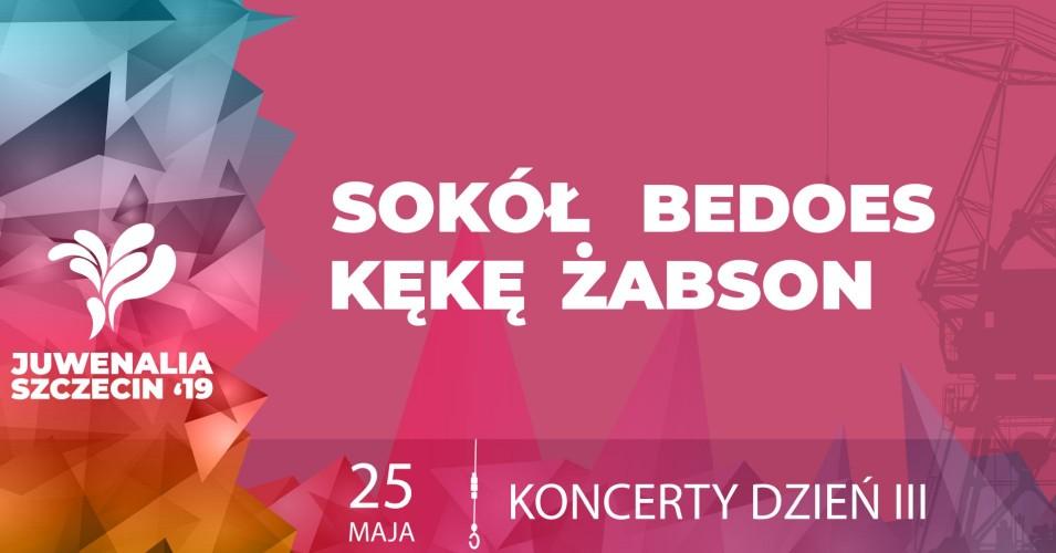 Juwenalia 2019 Sokół, Bedoes, Kękę, Żabson