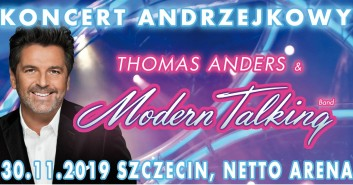 Koncert z okazji Andrzejek: Thomas Anders i Modern Talking Band