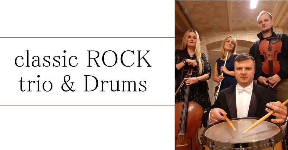Koncert classic ROCK trio & Drums