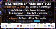III Letni Koncert Uniwersytecki - koncert finałowy
