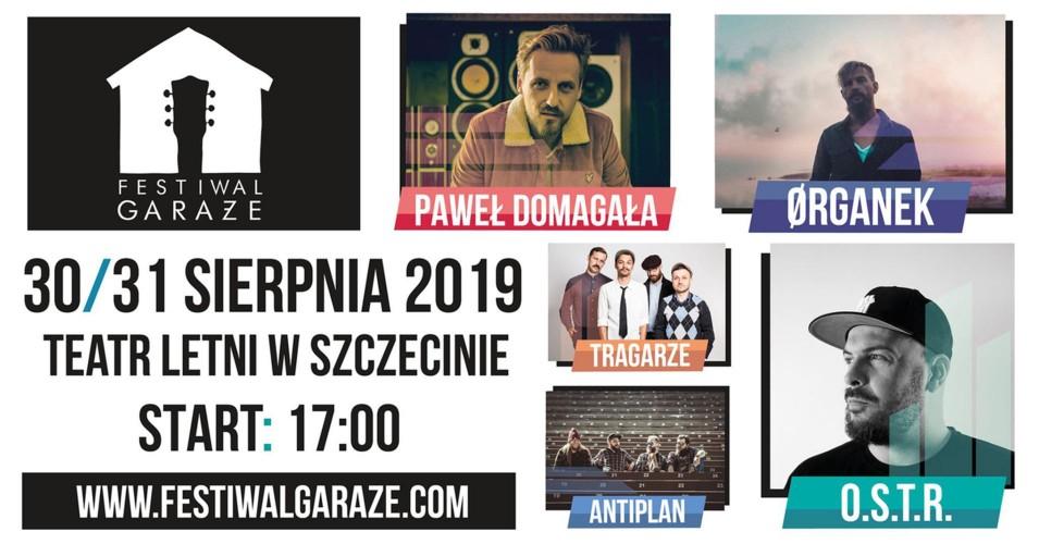 Festiwal Garaże: Organek, Antiplan