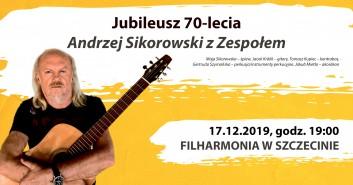 Jubileusz 70-lecia. Andrzej Sikorowski z zespołem