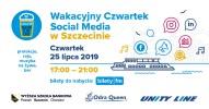LISTA REZERWOWA Wakacyjny Czwartek Social Media w Szczecinie