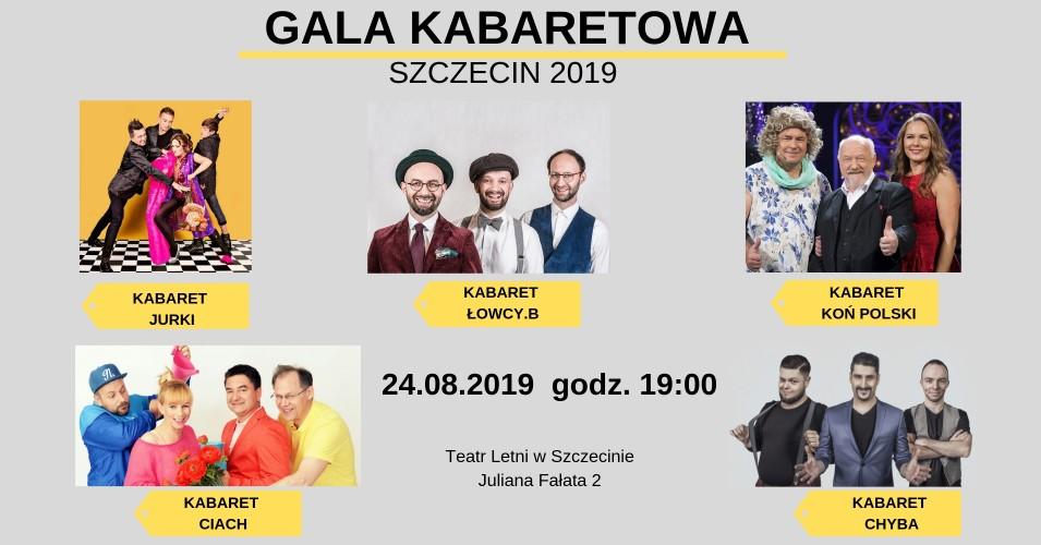 Gala Kabaretowa - Szczecin 2019