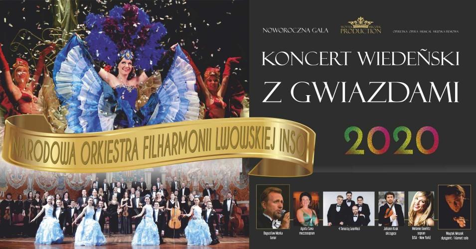 Koncert Wiedeński z Gwiazdami 2020: VIVA Wiedeń - VIVA Broadway