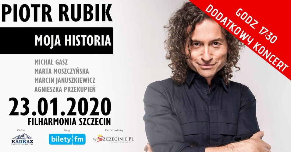 Piotr Rubik - Moja Historia - dodatkowy koncert