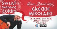 """Dimitris Dymitriadis - recital - """"Świat według Zorby"""" Greckie Mikołajki"""