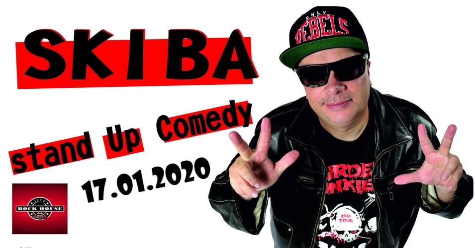 Skiba - literacki Stand-up Comedy