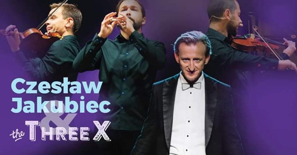 Czesław Jakubiec & The ThreeX - Muzyka żartem pisana