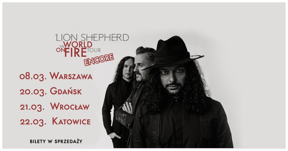 Lion Shepherd - World On Fire Tour 2020