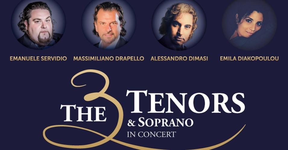 Italian Pop Opera - The 3 Tenors & Soprano - Włoska Gala Operowa