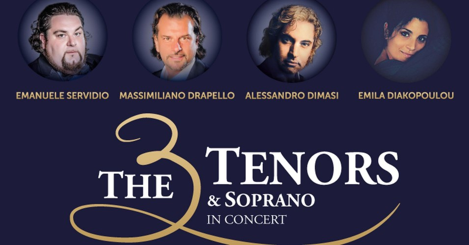 Italian Pop Opera - The 3 Tenors & Soprano