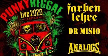 Punky Reggae live 2020: Farben Lehre + Dr Misio + The Analogs + Ereles
