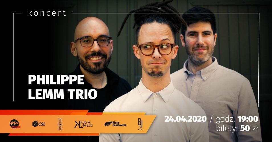 Philippe Lemm Trio