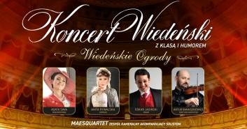 Koncert Wiedeński z Klasą i Humorem - Wiedeńskie Ogrody