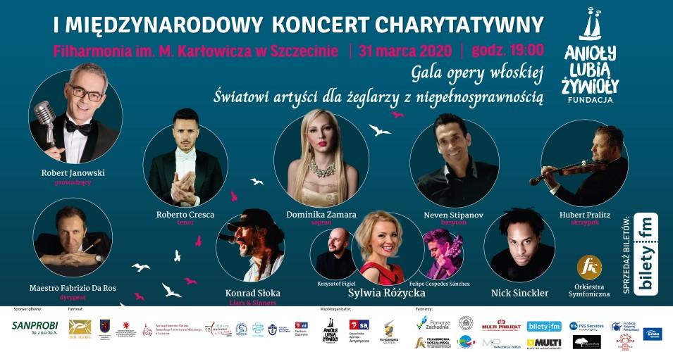 I Międzynarodowy Koncert Charytatywny - Gala Opery Włoskiej
