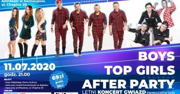 Letni Koncert Gwiazd: Boys, Top Girls, After Party