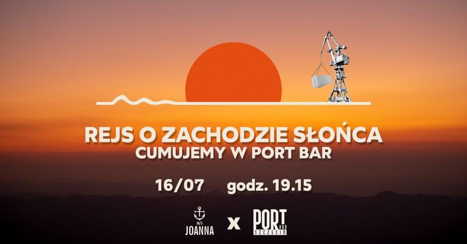 Rejs o zachodzie słońca 16/07 - PortBar