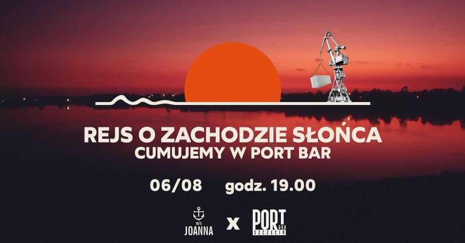Rejs o zachodzie słońca 06/08 - PortBar