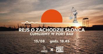 Rejs o zachodzie słońca 13/08 - PortBar