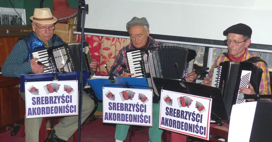 Koncert zespołu Srebrzyści Akordeoniści