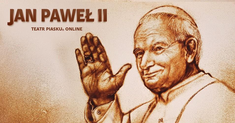 Teatr Piasku Online: Jan Paweł II - Historia życia