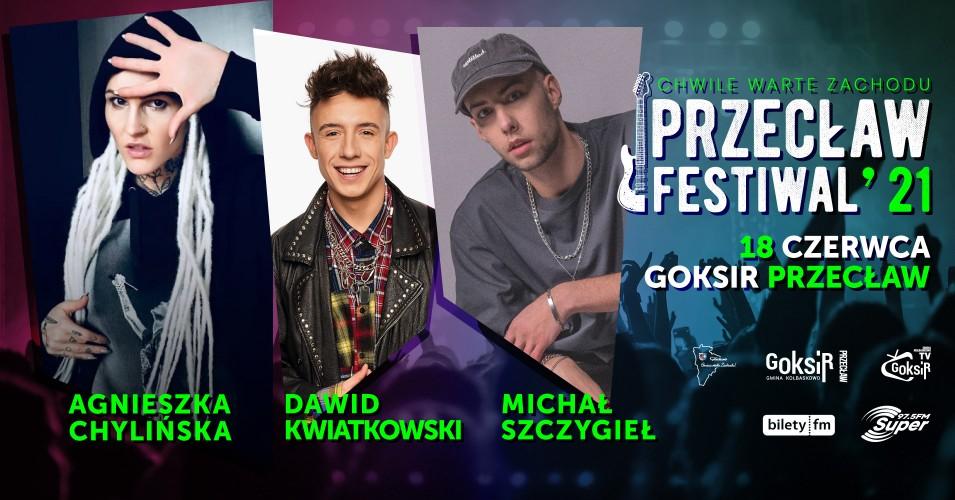 Przecław Festiwal 2021 - Agnieszka Chylińska, Dawid Kwiatkowski, Michał Szczygieł