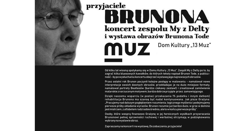 Przyjaciele Brunona - koncert zespołu my z delty