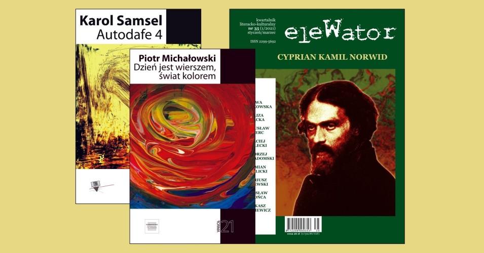 Czwartki Literackie 13 Muz - eleWator 35 - Piotr Michałowski, Karol Samsel