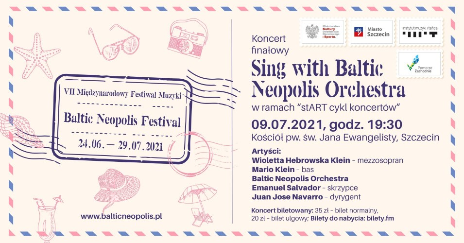 Koncert finałowy: Sing with Baltic Neopolis Orchestra