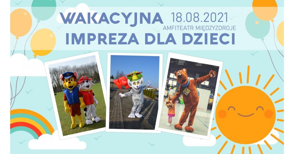 Wakacyjna impreza dla dzieci