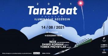 TANZBOAT 2021 podczas Iluminacje Szczecin