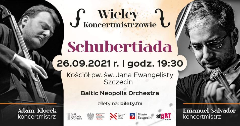 Wielcy Koncertmistrzowie - Schubertiada