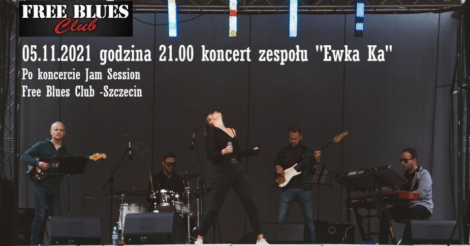Koncert zespołu Ewka Ka (po koncercie Jam Session)